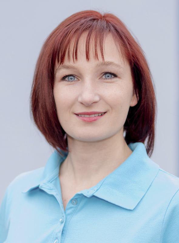 Physiotherapeutin Franziska Linke