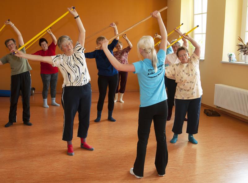 Orthopädische Rückenschule für Senioren